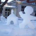 thumbs snow sculpture 47