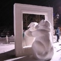 thumbs snow sculpture 48
