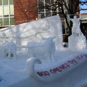thumbs snow sculpture 49