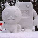 thumbs snow sculpture 64