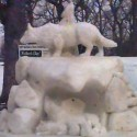 thumbs snow sculpture 68