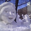 thumbs snow sculpture 70
