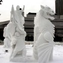 thumbs snow sculpture 86