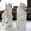 thumbs snow sculpture 86