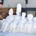 thumbs snow sculpture 94