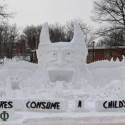 thumbs snow sculpture 95