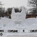 thumbs snow sculpture 95