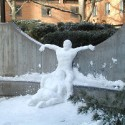 thumbs snow sculpture 96