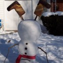 thumbs funny snowman ideas
