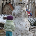 thumbs funny snowman 01