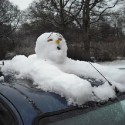 thumbs funny snowman 02