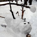 thumbs funny snowman 10