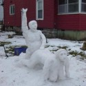 thumbs funny snowman 11