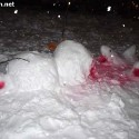 thumbs funny snowman 12