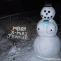 thumbs funny snowman 13