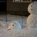 thumbs funny snowman 15