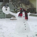 thumbs snowman headless
