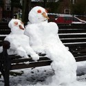snowmen-bench