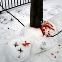 thumbs snowmen impaled