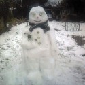 thumbs snowmen lifelike