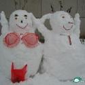 thumbs snowmen lingerie