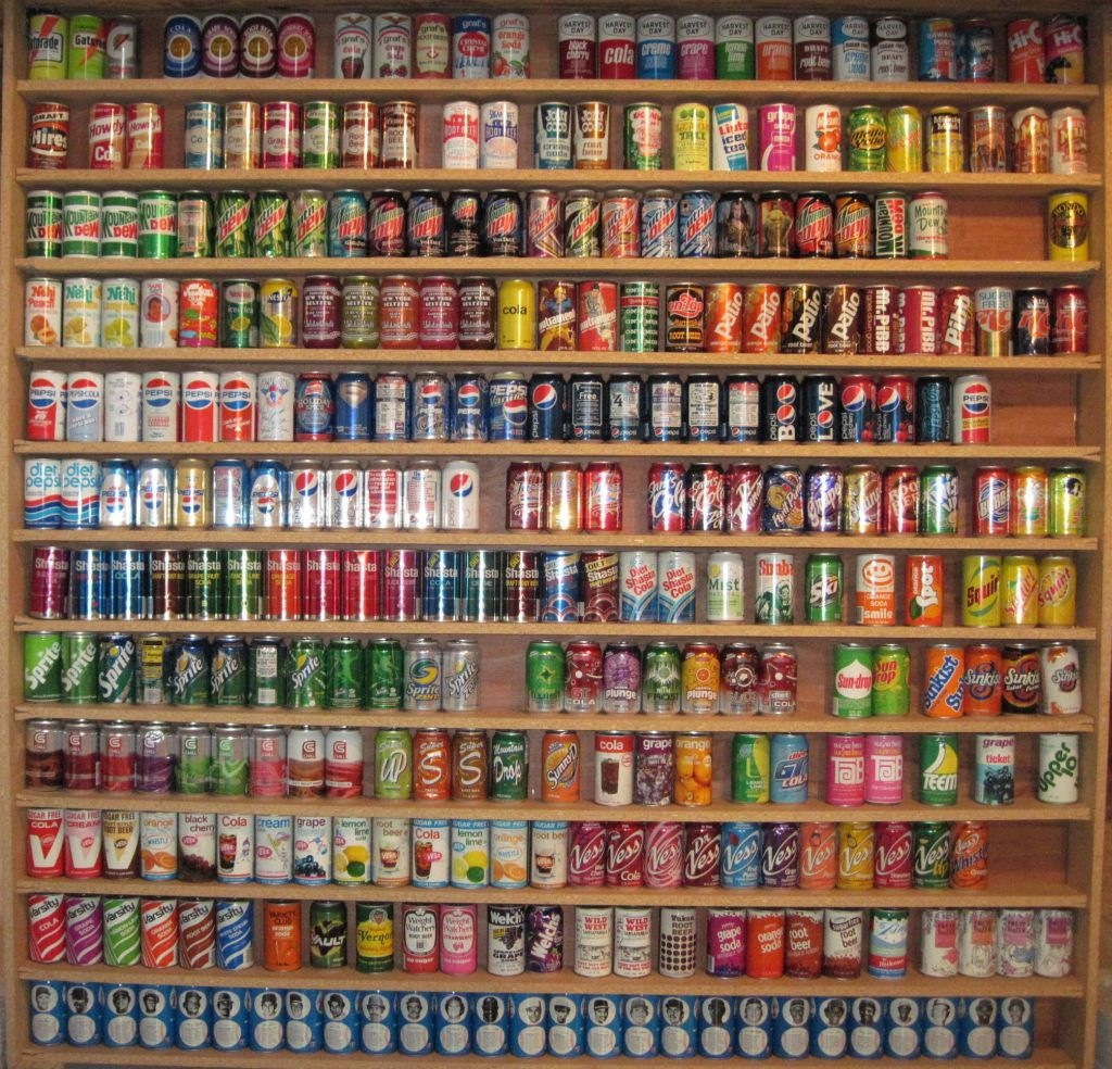 Epic soda pop can collections for The collection com