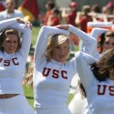 thumbs usc song girls spring game16