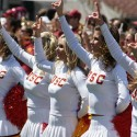 thumbs usc song girls spring game19