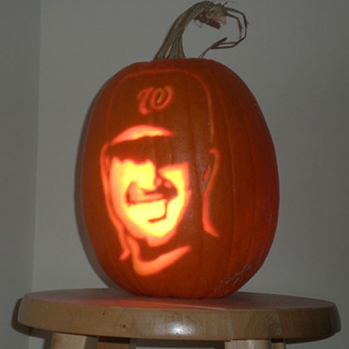 Sports Pumpkin Carvings