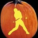 thumbs baseball pumpkin carving
