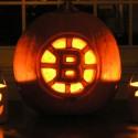 thumbs boston bruins pumpkin carving