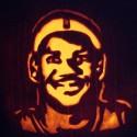 thumbs lebron pumpkin carving