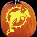 miami-dolphins-pumpkin-carving