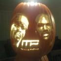 thumbs michael vick pumpkin carving