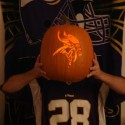 thumbs minnesota vikings pumpkin carving