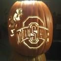 thumbs ohio state pumpkin carving