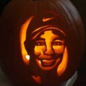 thumbs tiger woods pumpkin carving