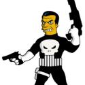 thumbs punisher marvel comics