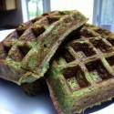thumbs green waffle