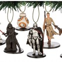 thumbs the force awakens christmas ornaments