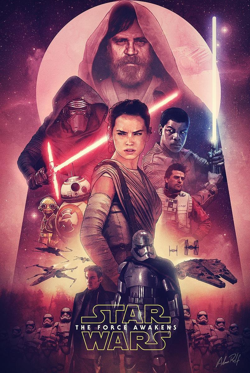 40 epic posters for star wars the force awakens. Black Bedroom Furniture Sets. Home Design Ideas