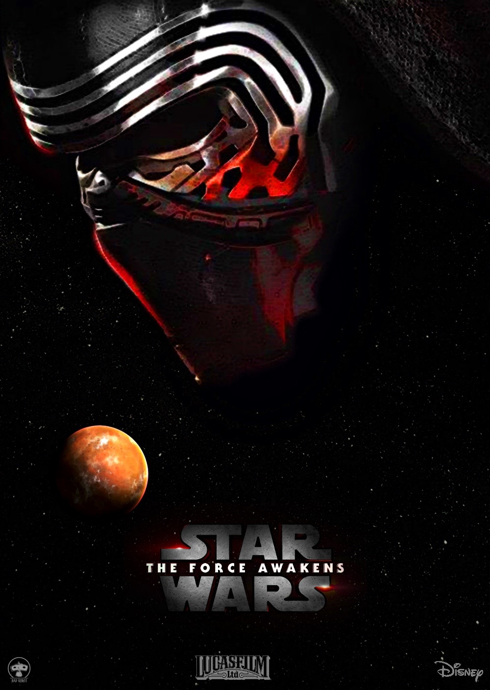 Epic Posters For Star Wars The Force Awakens
