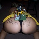 thumbs sexy steelers fan 20