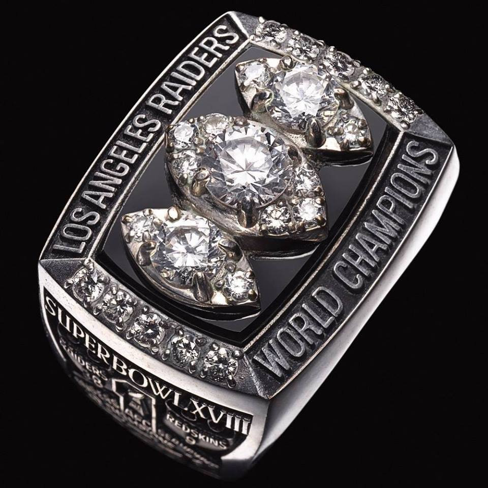 Raiders Super Bowl Ring