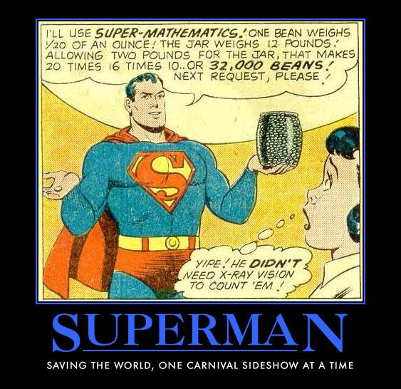 Superhero De-motivational Posters