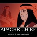 thumbs apache chief black vulcan apache chief superfriends superfri demotivational poster 1248946278