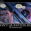 thumbs batman dont question him