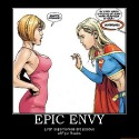 thumbs epic envy epic boobs supergirl demotivational poster 1232128049