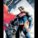 thumbs finish him superman batman fight awesome demotivational poster 1223922549
