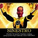 thumbs sinestro sinestro green lantern corps corp dc comics war pow demotivational poster 1249349488